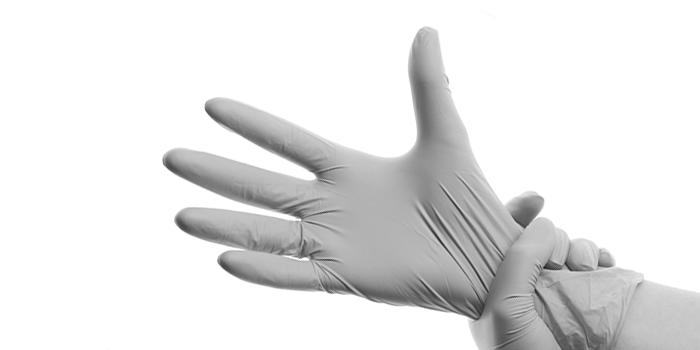 Plastic handschoenen