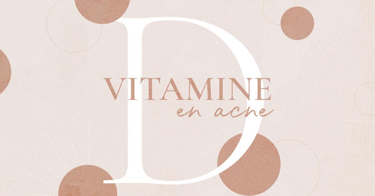 Vitamine D en acne